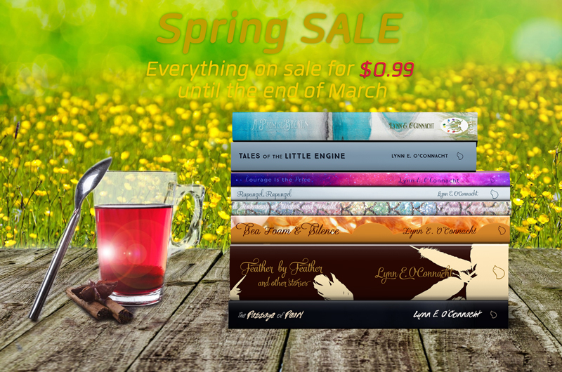 Spring Sale 2018! Everything on sale for only 99 cents!