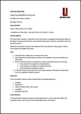 Revealing Key Details Of Job Description MaryannaSamok70