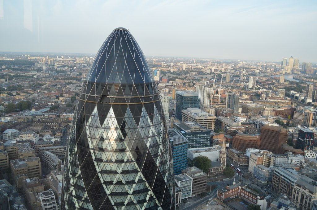 The London Gherkin by Matt Brown