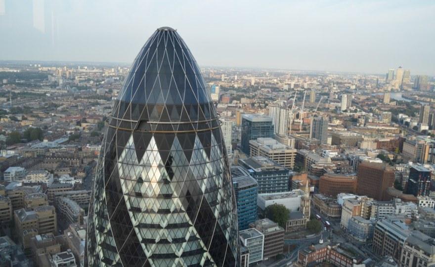 The London Gherkin by Matt Brown