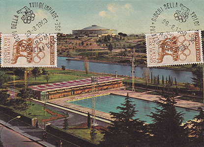 Piscina delle Rose  Le Olimpiadi dItalia