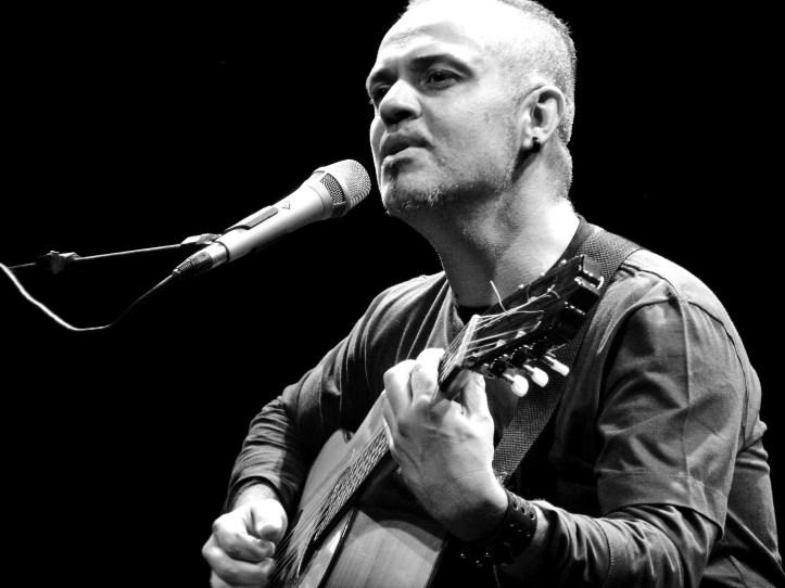 Show no Teatro Santa Doroteia - Belo Horizonte 2007- foto de Pedro Morais