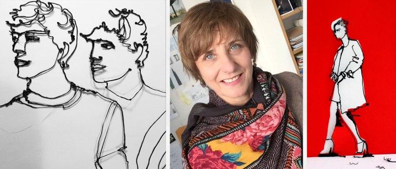 Agnès Audras Artiste utilisant le 3D Brush Léonard