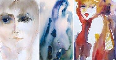 Aquarelles Sylvia Baldeva