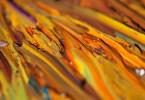 retouche peinture à l'huile fraîche