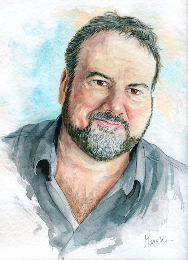 Autoportrait © Manù