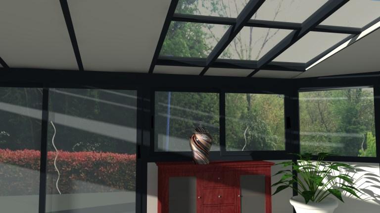 image veranda avec rendu