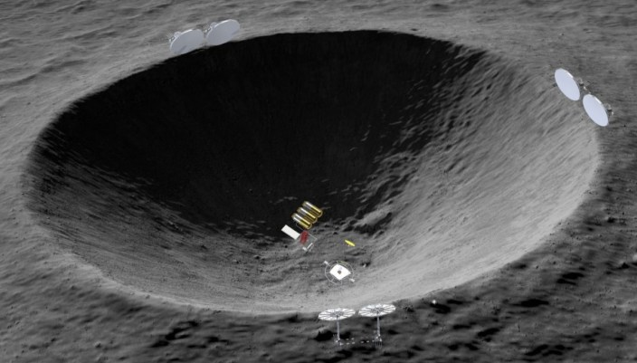 Image result for thermal mining moon