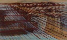 Huile sur toile 75 × 120 cm