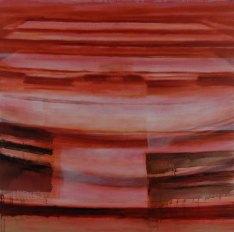 Acrylique et huile sur toile 150 × 150 cm