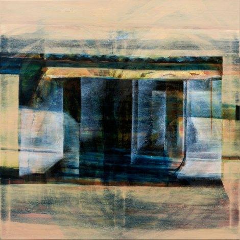 Huile sur toile 100 × 100 cm