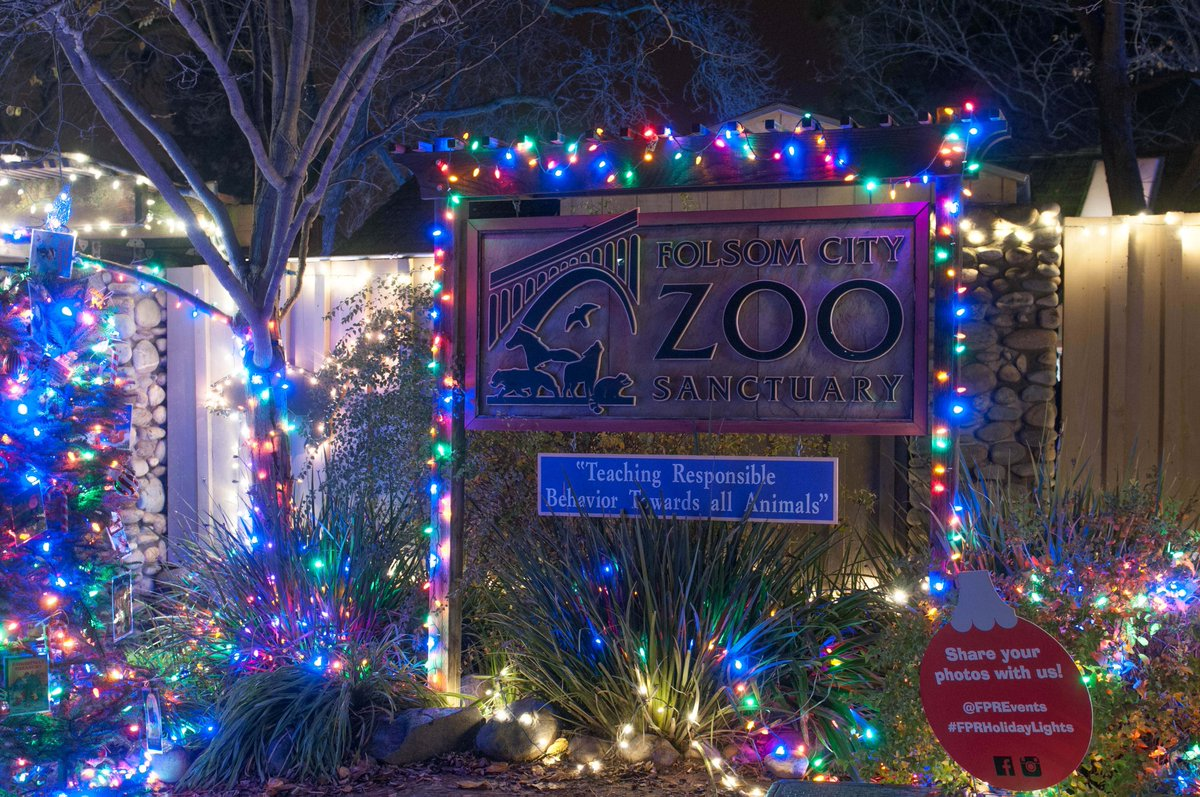 Sacramento Zoo Holiday Lights