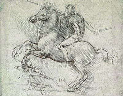Sforza Horse Monument Leonardo da Vinci
