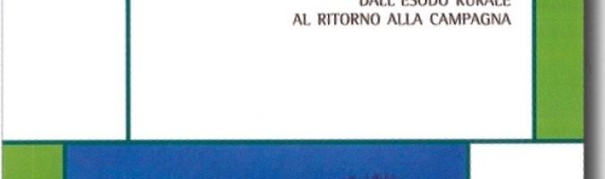 30 Novembre a Pisa: presentazione del libro Italia Contadina di Rossano Pazzagli e Gabriella Bonini