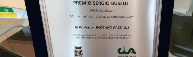 A Rossano Pazzagli il primo Premio Buselli