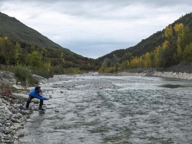 Giochi d'acqua sul fiume Nure