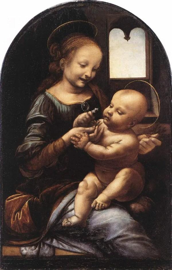 Benois Madonna - Leonardo Da Vinci