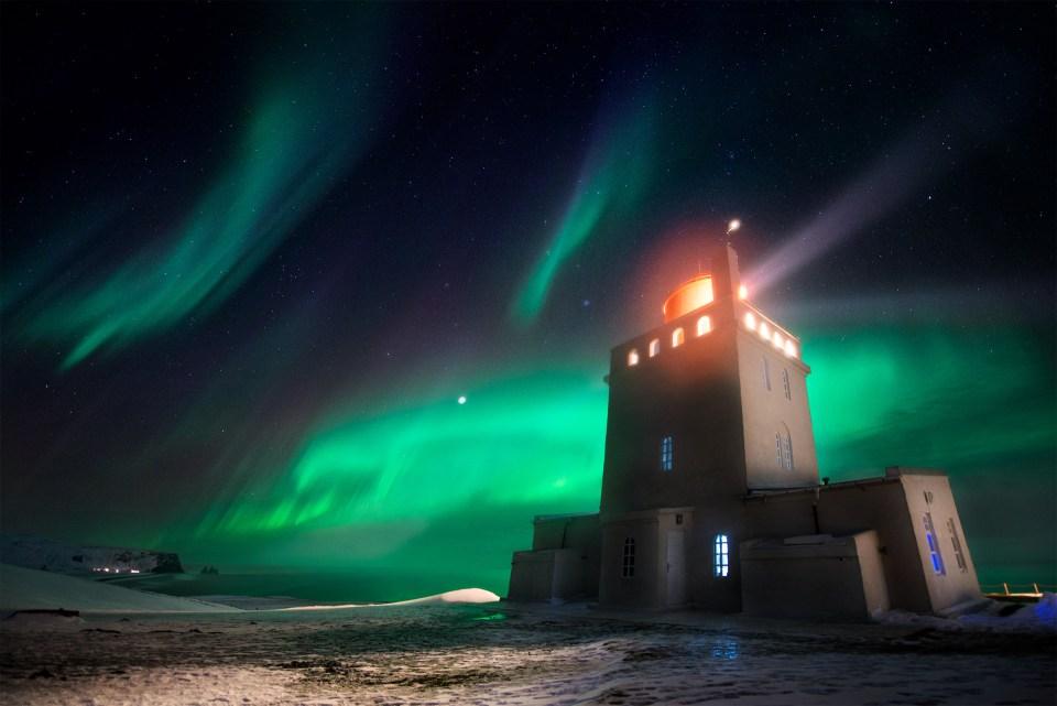 Arctic Night Dancer