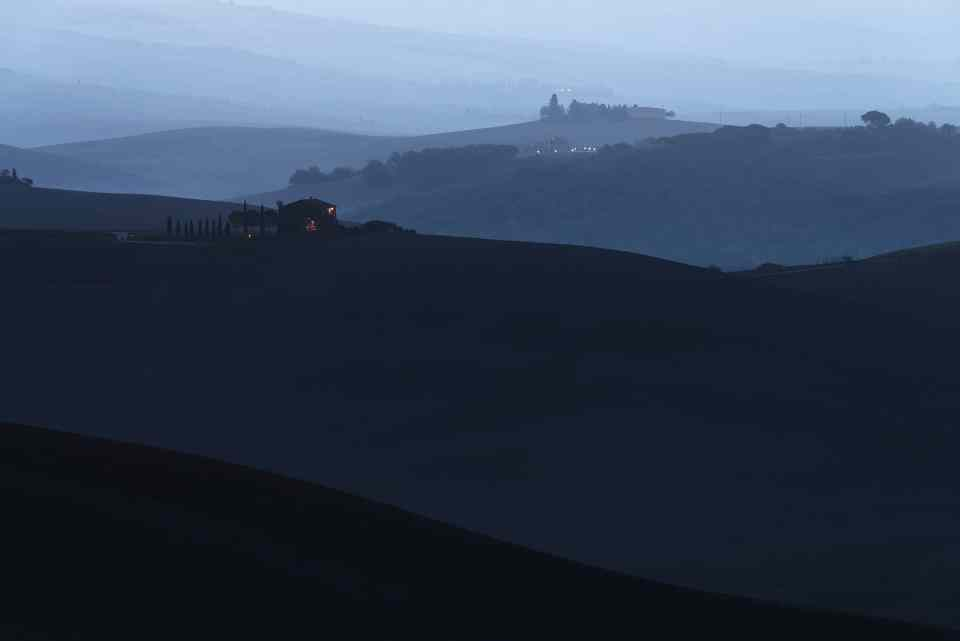 Twilight on the Hills