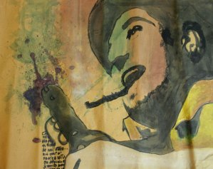 Leonardo Spina, Stefano1, 2009 Acrilyc on paperi, 70 x 100 cm