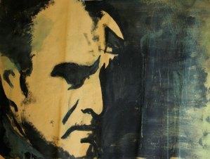 Leonardo Spina, Gigi, 2009 Acrilyc on paper, 70 x 100 cm