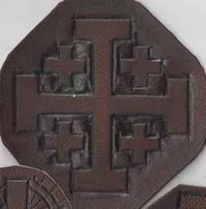 Tooled cross 3