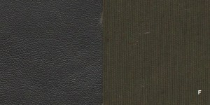 Combo F -- Dark Brown Lambskin with Brown Umber Cloth