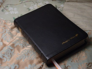 Smooth Black Calfskin Bible