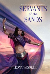 Cover art for Servants of the Sands