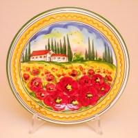 Hand painted Ceramic plates dinnerware sets pt301b 20p