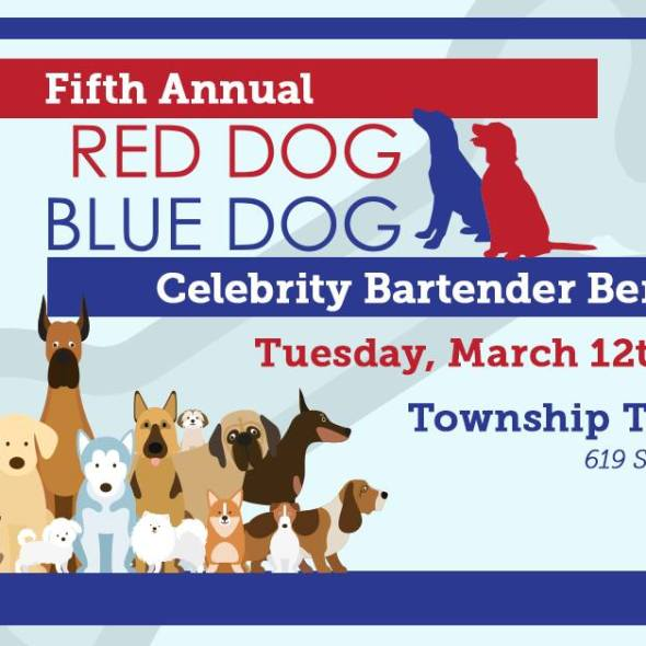 Red Dog Blue Dog Event poster