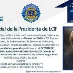 Visita de la Presidenta de LCIF (Lions Clubs International Foundation)