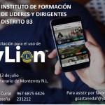 Instituto de Liderazgo Distrito B3 / Invitación