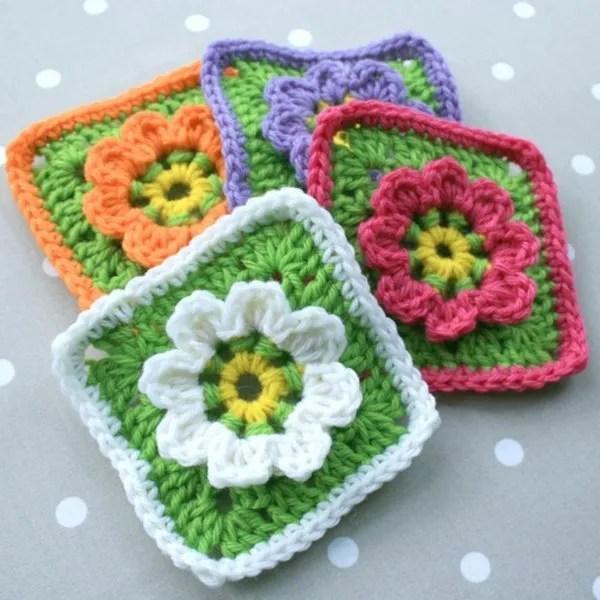 diagram for granny square crochet stitch 2016 taotao 50 wiring floral pattern - woolnhook by leonie morgan