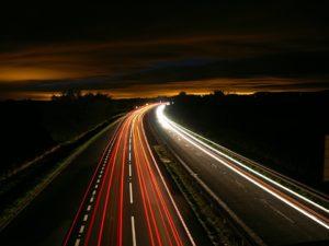 Highway Night Traffic Light Pixabay