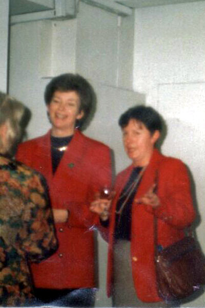 Meeting Mary Robinson when she was Irish President..