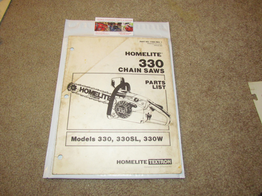 Chain Saw Diagram And Parts List For Remington Chainsawparts Model