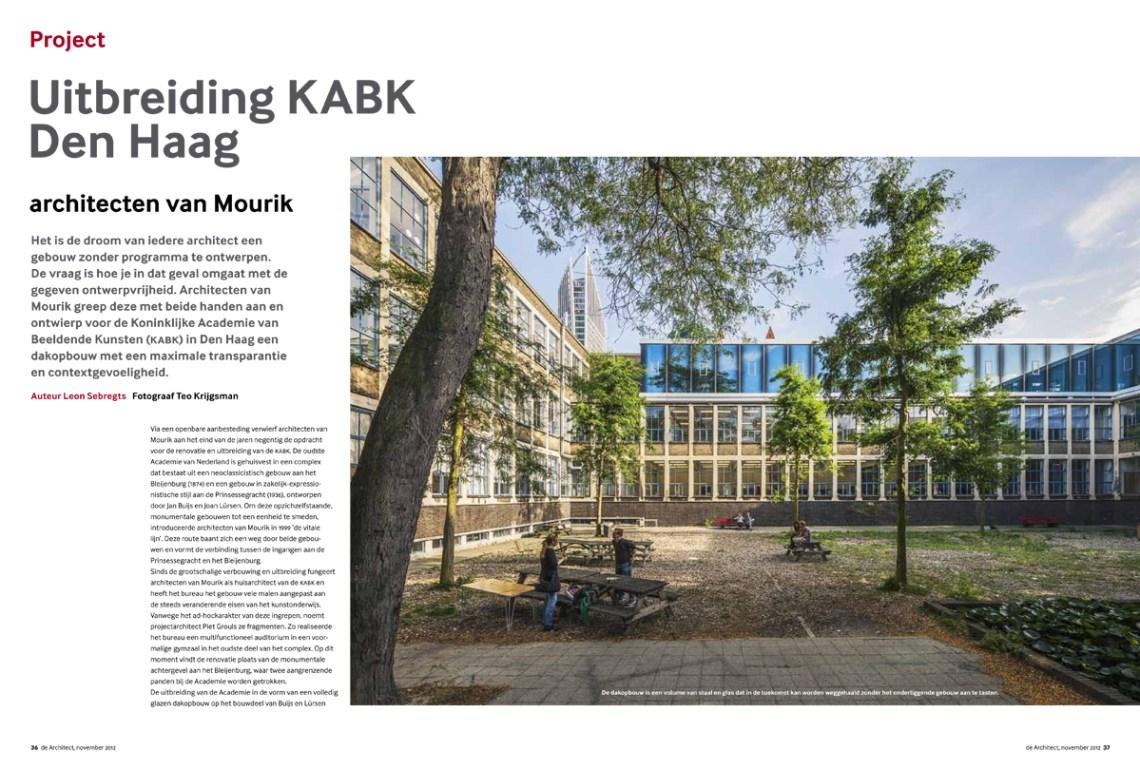 de Architect_KABK1