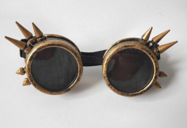 Bronze Antique Vintage Steampunk Cyber Goggles