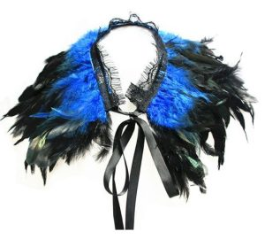 burlesque feather cape