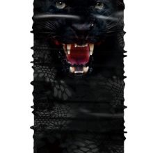 Face Mask Black Tiger