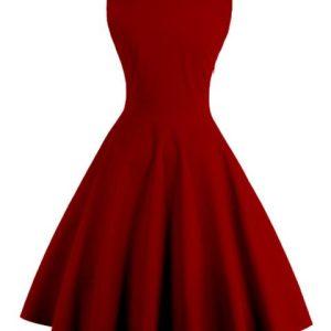 Swing Dress Retro Rockabilly Plus Size