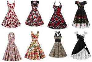 Rockabilly Retro 1950's Swing Dresses