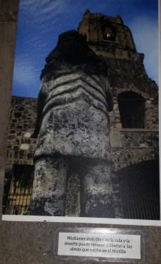 Mictlantecuchtli. Exposición fotográfica en el Teatro Miquiztli, Mixquic