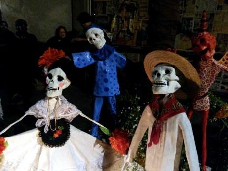 Ofrendas en la Calle Regina. Centro Histórico de Ciudad de México