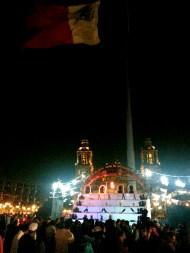 Mega ofrenda en el Zócalo. Ciudad de México