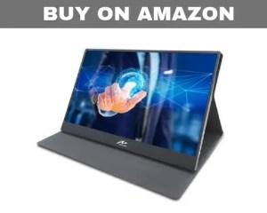 Kenowa touchscreen portable monitor for laptop mac mini gaming consoles
