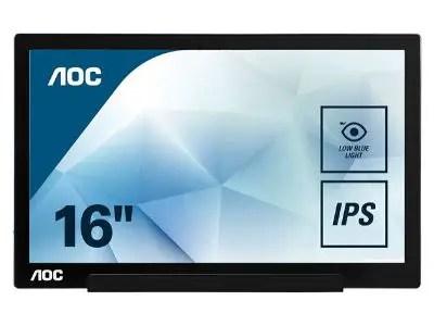 AOC I1601FWUX Portable USB Monitor