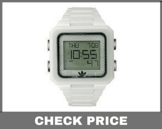 Adidas Men's ADH9013 Ceramic White Peachtree Digital Watch