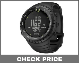 23f5ba5c6 Suunto is a well know bran in the market for best digital watches. The  Suunto Core Altimeter Watch all black is a beautiful time piece on this  list.